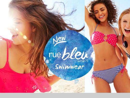 Photo Release -- rue21 Announces the Launch of Its New Swimwear Line, ruebleu by rue21