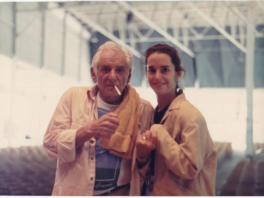 Janna Hymes (right) studied with Leonard Bernstein at Tanglewood.