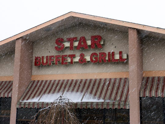 The front of Star Buffet & Grill