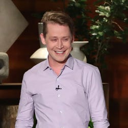 Kevin! Macaulay Culkin tells Ellen DeGeneres he won't do the 'Home Alone' face