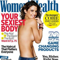 """Cobie models bracelets for the May issue of """"Women's Health."""""""