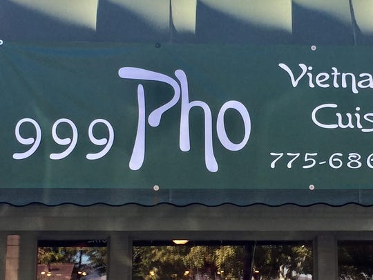 999 Pho is in the Franktown Corners center. Repeating numbers are considered auspicious.