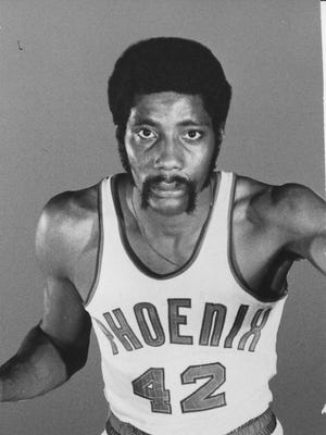 Phoenix Suns great Connie Hawkins.