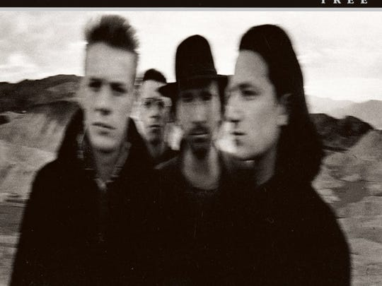 The Joshua Tree by U2, album cover.