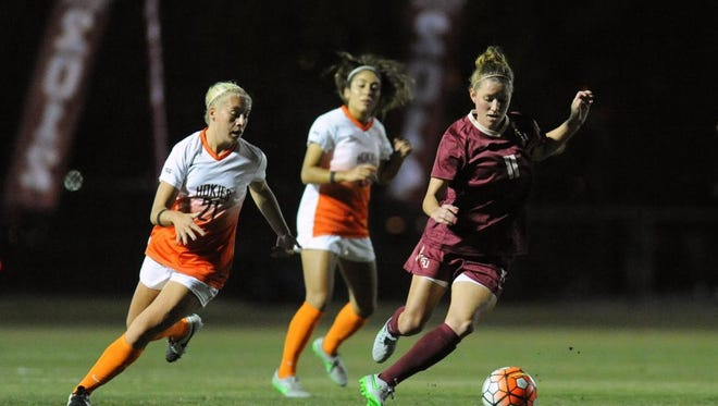 Florida State tied Virginia Tech 0-0.