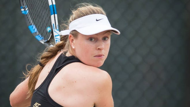 Daneika Borthwick has been FSU's top singles player this season.