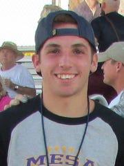 Keller Adair, from Mesa High School, is azcentral sports'