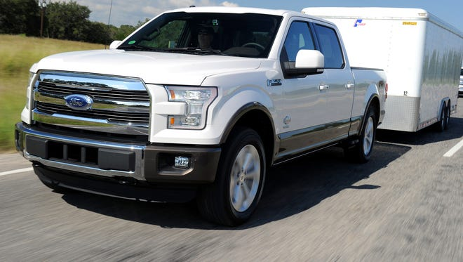 Ford's  F-150 benefits from up to 700 pounds of weight savings over the previous generation and it was named Green Truck of the Year