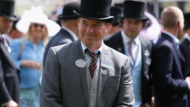 Trainer Wesley Ward, who trains Acapulco, won the Queen Mary Stakes during Royal Ascot's 2015 meeting.