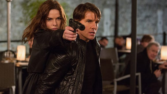 """Rebecca Ferguson is back! She and Tom Cruise were a dynamic duo in """"Mission: Impossible - Rogue Nation."""""""