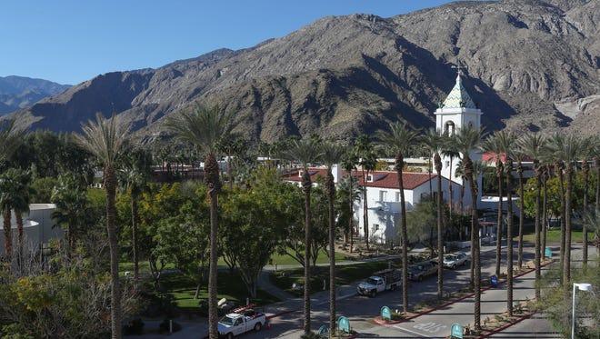 The El Mirador tower at Desert Regional Medical Center in Palm Springs, February 7, 2018.