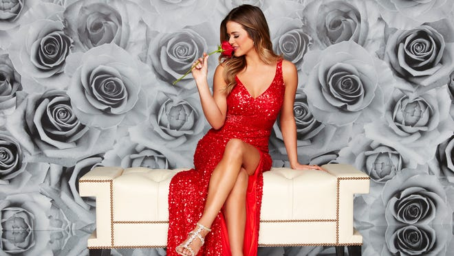 "JoJo Fletcher hands out her final rose on the season finale of ""The Bachelorette,"""