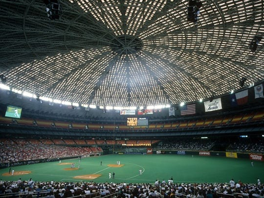 The Astrodome first opened in 1965 and hosted a number