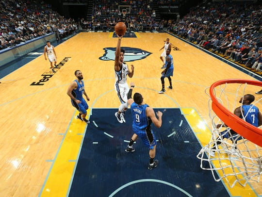 Deyonta Davis has played in 26 games for the Memphis