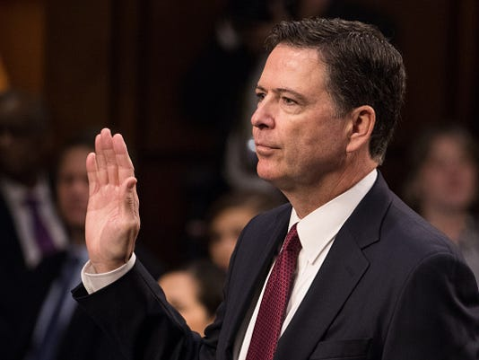 Former FBI Director James Comey Testifies on Capitol Hill
