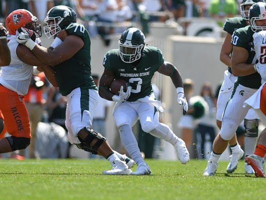 COLLEGE FOOTBALL: SEP 02 Bowling Green at Michigan State