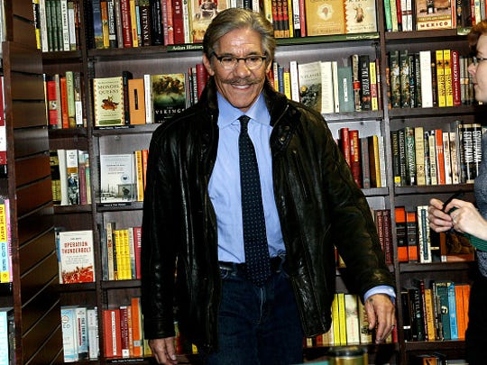 "NEW YORK, NY - MARCH 15:  Geraldo Rivera attends the signing for Cheech Marin's new book ""Cheech Is Not My Real Name... But Don't call Me Chong"" at Barnes & Noble Union Square on March 15, 2017 in New York City.  (Photo by Steve Mack/Getty Images)"