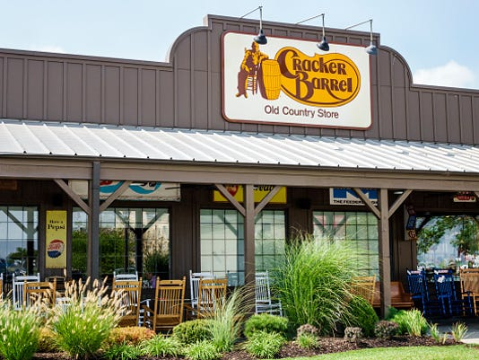 Cracker Barrel Restaurant and Old Country Store entrance.