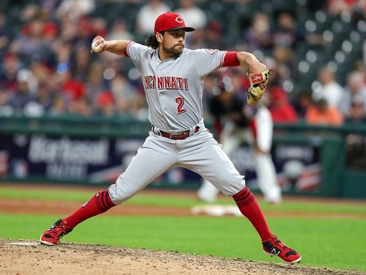 MLB: JUL 11 Reds at Indians