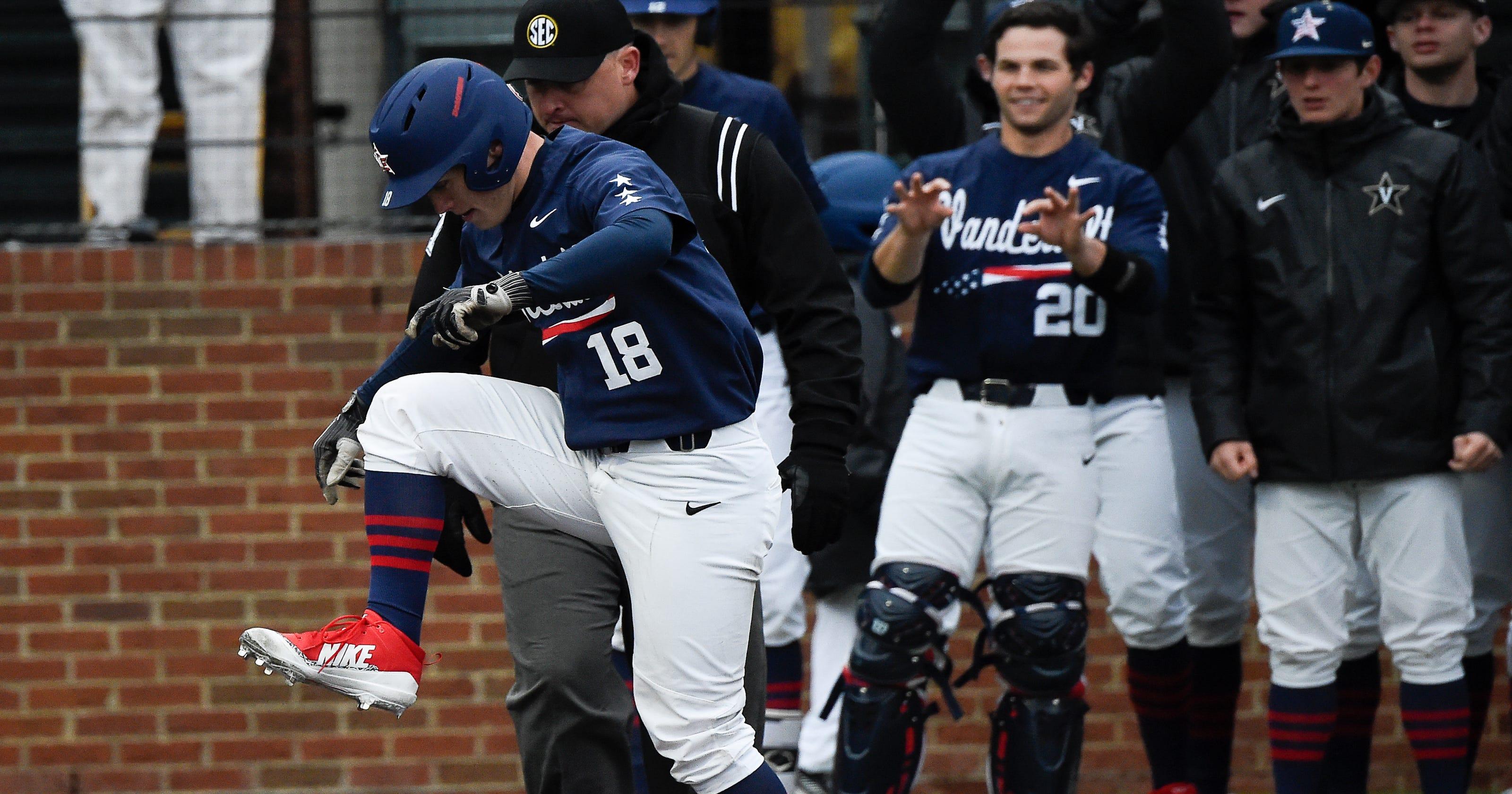 best service e7a33 b584f Vanderbilt steals series from Ole Miss: Hidden-ball trick ...