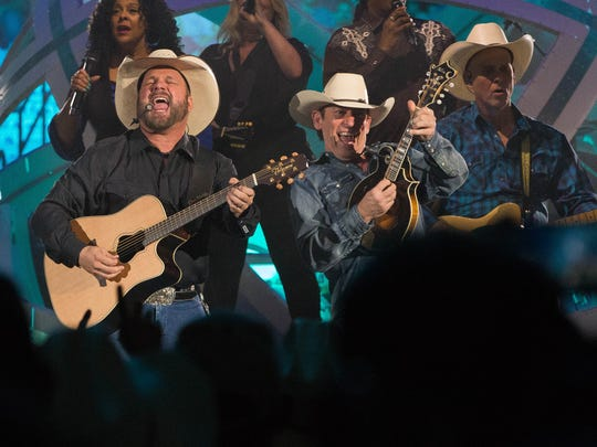 Garth Brooks played to a pack house at the Pan American Center, Friday, April 7, 2017. Brooks is touring with his wife Trisha Yearwood and has five shows planned for Las Cruces.