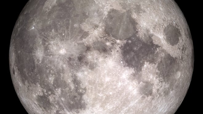 The brightest natural object in Earth's nighttime skies during this week is Earth's own natural satellite, the moon, which was in its full phase Tuesday.