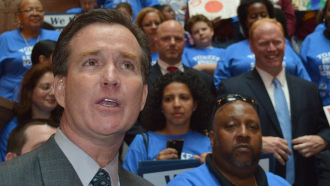 Senate Majority Leader John Flanagan said he believed in Yonkers.