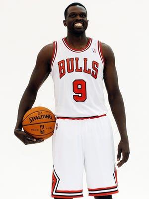 Luol Deng may not be in that Bulls uniform next season.