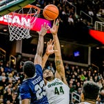 Nick Ward leads Michigan State basketball past Oral Roberts