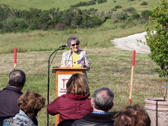 Ted Taylor Ag Vocational Center groundbreaking, Rancho