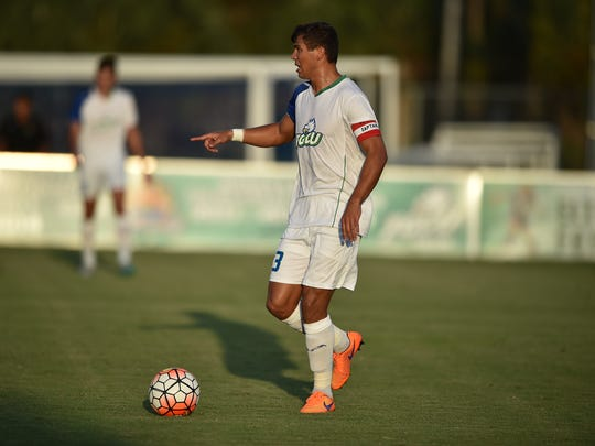 FGCU's Aaron Guillen was the Atlantic Sun Conference Defensive Player of the Year as a senior this season.