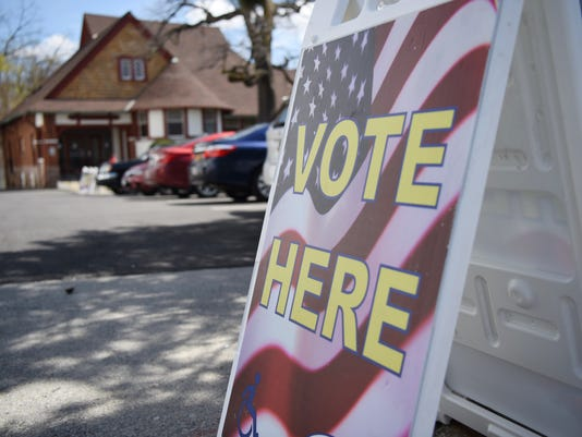 Tuesday's primary election in Poughkeepsie