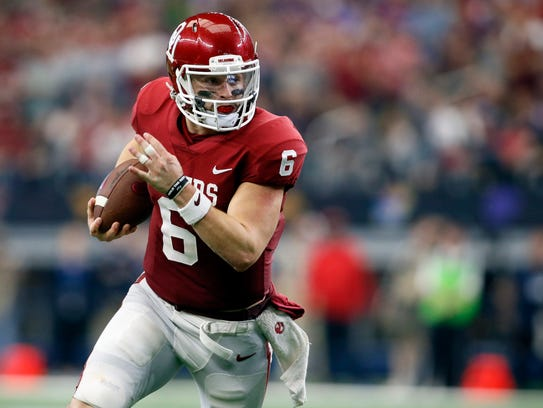 The Jets could draft Oklahoma quarterback Baker Mayfield at No. 6.