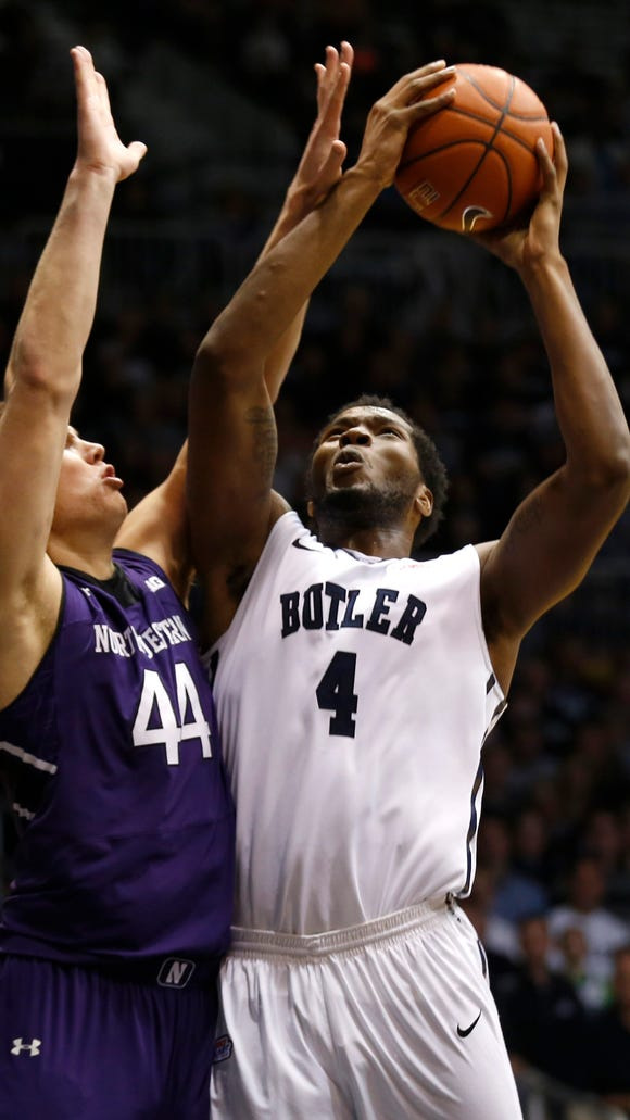 Tyler Wideman has provided some added beef to Butler's frontcourt.