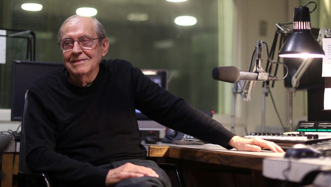 Ronald J. Ebben, 80, a familiar morning voice on the radio's WFSU, is retiring this year after decades reporting on the news.