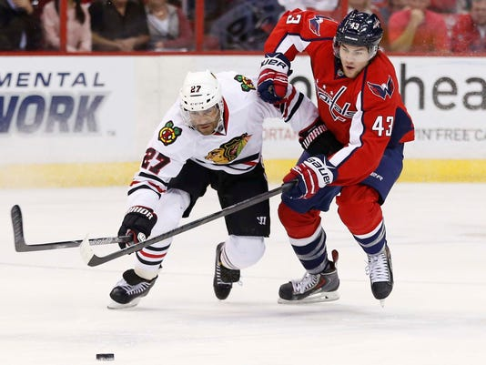 6-20-14-wilson-caps. The Washington Capitals will reportedly face the  Chicago Blackhawks in the 2015 Winter Classic. ae7f2f7bf