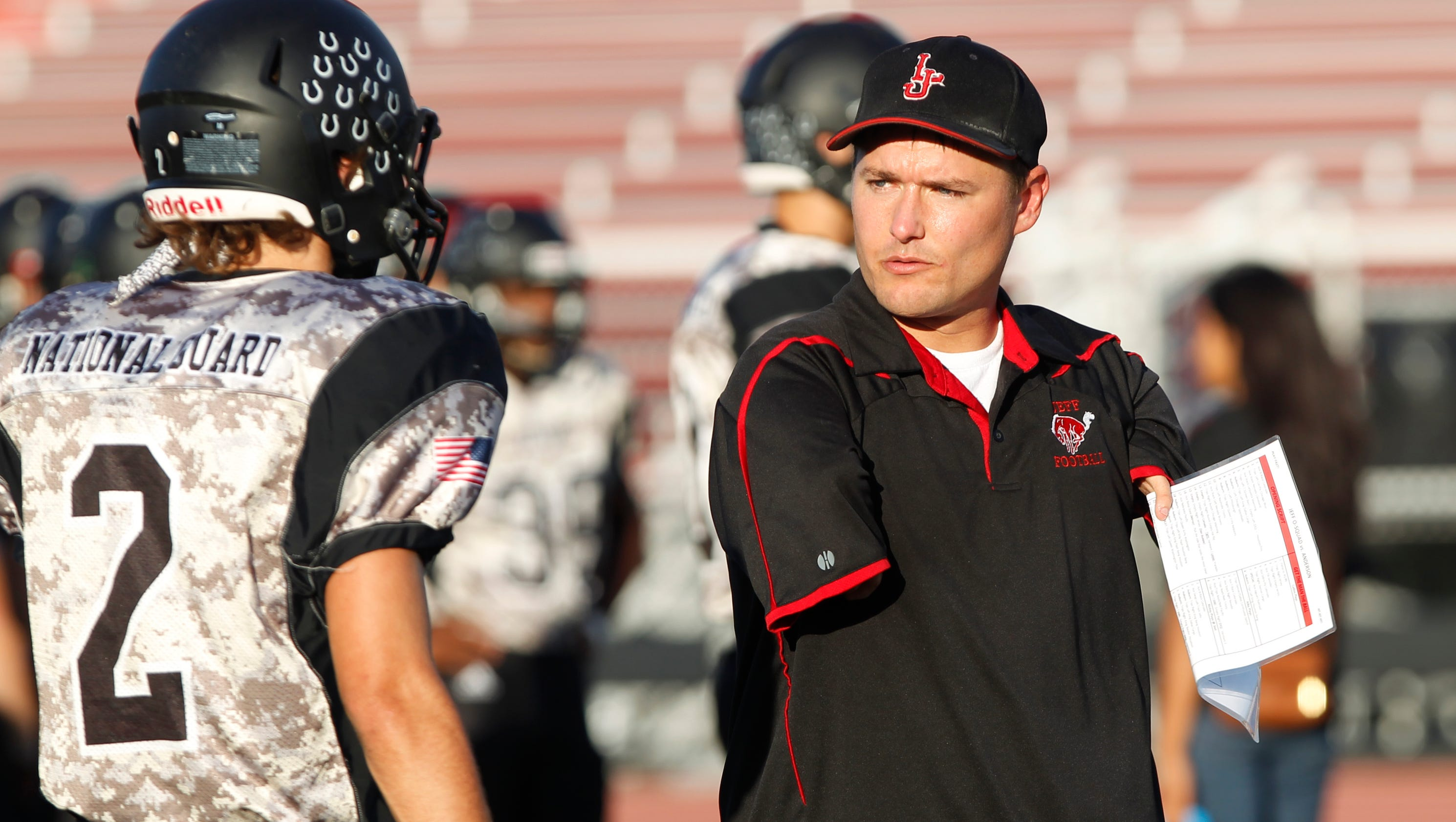 Jeff receivers coach share special bond for Lafayette cds 30