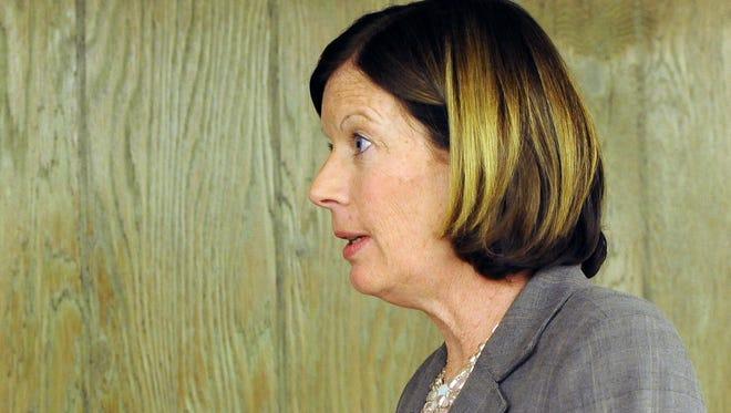 Millville City Clerk Susan G. Robostello at City Hall in 2013.
