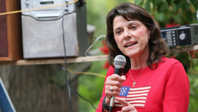 Republican U.S. Senate candidate Leah Vukmir, a state senator from Brookfield.