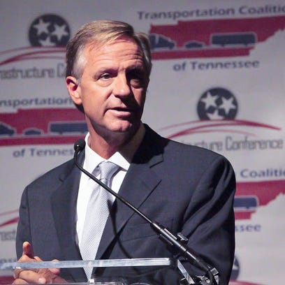 Gov. Bill Haslam Tuesday told an infrastructure conference
