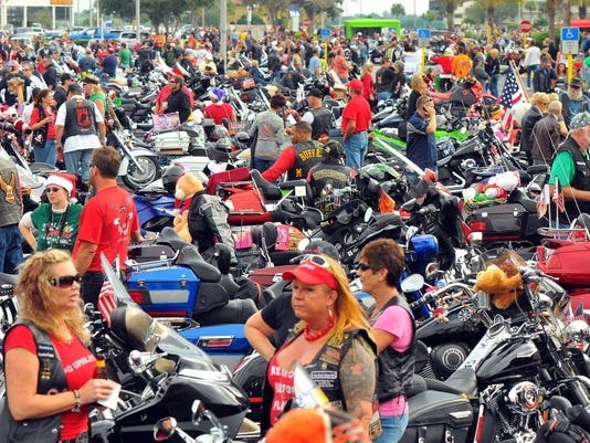 ABATE MOTORCYCLE TOY RUN
