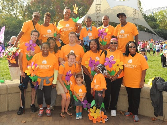 Queen City Homecare team at the Walk to End Alzheimer's.