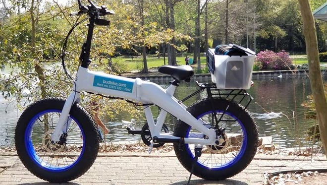 BudBikes is a new business that lets customers rent electric bicycles by the day.
