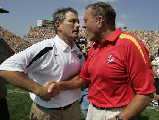 Kirk Ferentz and Dan McCarney