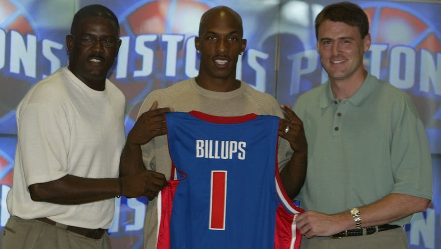 kolejna szansa super słodki zakupy Pistons honoree Chauncey Billups likes look of current team