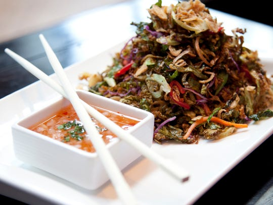Crispy Brussels sprouts salad at Sunda in the Gulch.