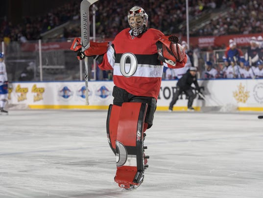 NHL: Scotiabank NHL100 Classic-Montreal Canadiens at Ottawa Senators