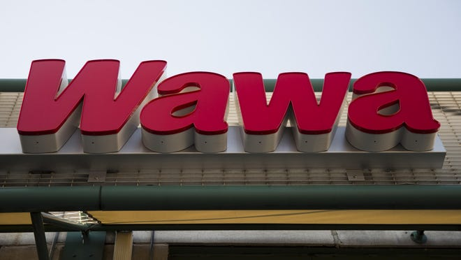 File photo Wawa was recently named America's favorite convenience store in an annual, national survey by Market Force Information. Matt Rourke/AP Philadelphiaâ??s iconic Wawa convenience store and other local chains are taking their regional brands far beyond the Mid-Atlantic area. Wawa now has stores in Florida and is looking to expand to Virginia and New Jersey as well. This April 2, 2015 photo shows pretzels a Wawa convenience store in Philadelphia. Wawa and other Philadelphia-area purveyors are taking their regional brands far beyond the mid-Atlantic region. (AP Photo/Matt Rourke)