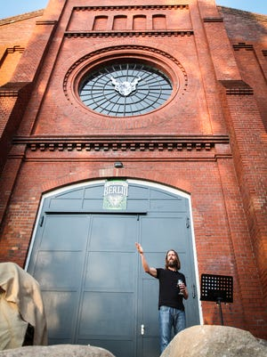 Stone Brewing Co. founder Greg Koch outside of the California-based brewery's new Berlin, Germany facility.