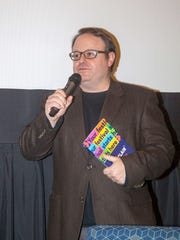 Montclair Film Festival Executive Director Tom Hall at the 2017 preview party on Sunday.